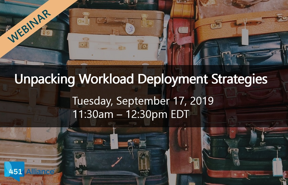 Unpacking Workload Deployment Strategies